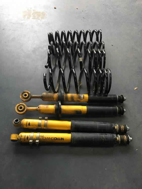 OME Suspension Kit with Nitrocharger Shockers to suit Landcruiser 200 series 3 years old (limited work) - $900 (2).JPG